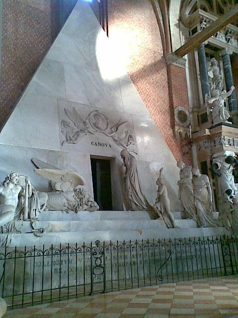 Interior de una iglesia Veneciana