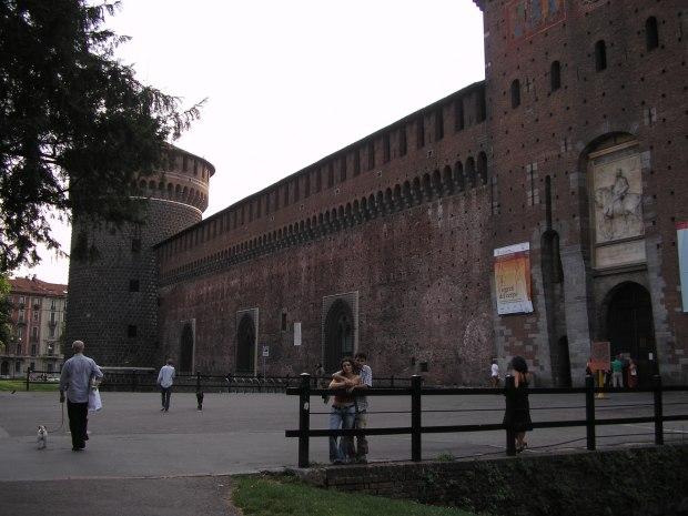 fortaleza de Milán